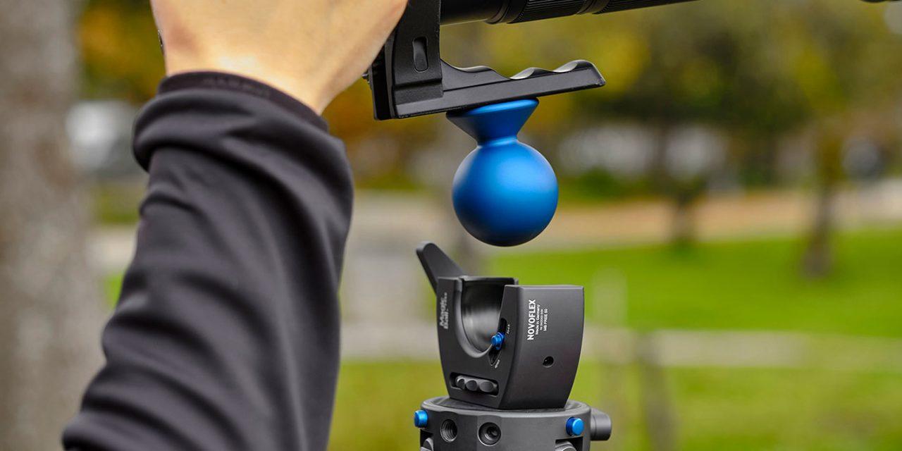 Neu von Novoflex: MagicBall Free 50 – besonders flexibler Kugelkopf