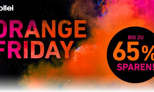 Oranges Sparwochenende bei Rollei: So viele Sonderangebote wie noch nie