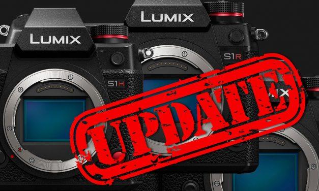 Panasonic bringt umfangreiche Firmware-Updates für S-Familie und G110