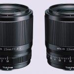 Neu von Tokina für Fuji X: atx-m 23 mm F1.4 X und atx-m 33 mm F1.4 X