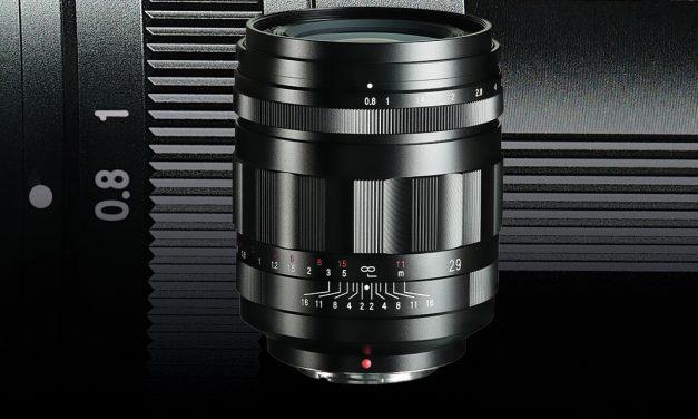 Voigtländer 29mm F1:0,8 Super Nokton asphärisch für MFT vorgestellt