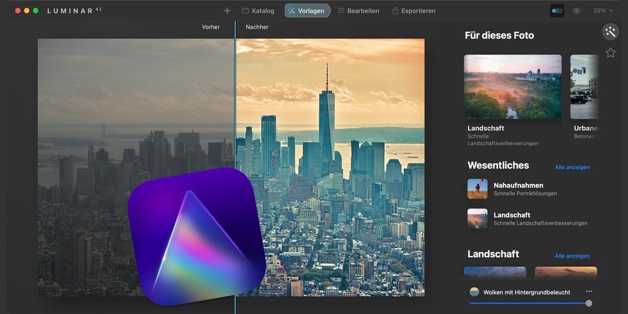 Ersteindruck Luminar AI: Mit künstlicher Intelligenz zu besseren Bildern?