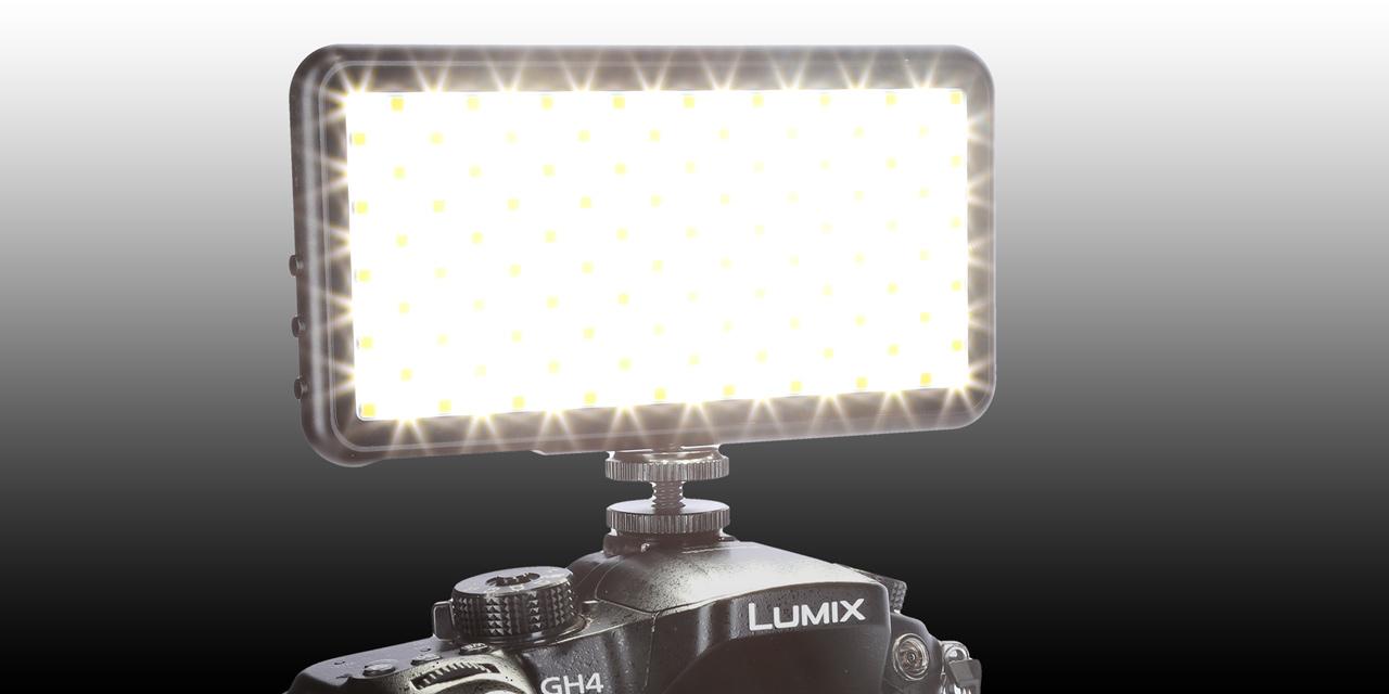 Maginon LED-180: Handliches Dauerlicht für Video- und Fotografie