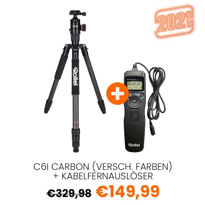 21 C6I Carbon schwarz