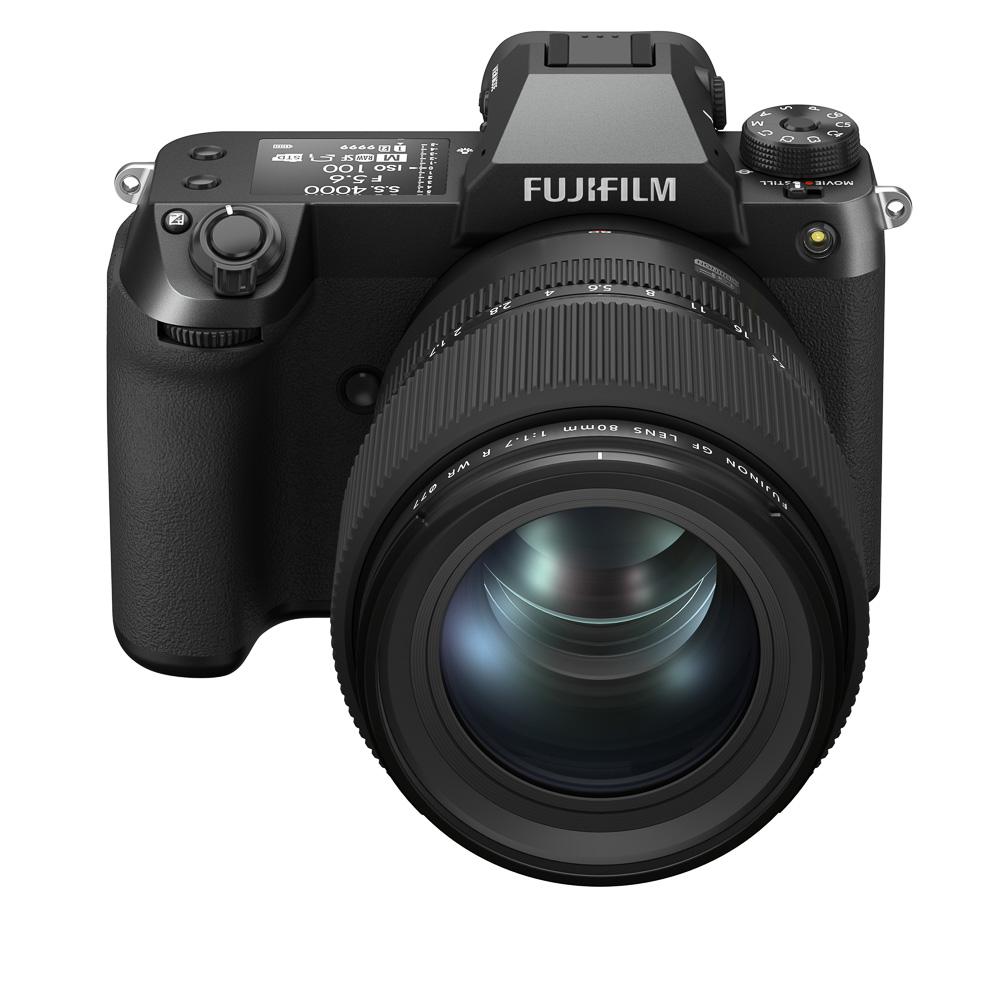 FUJIFILM GFX100S_front_top_GF80