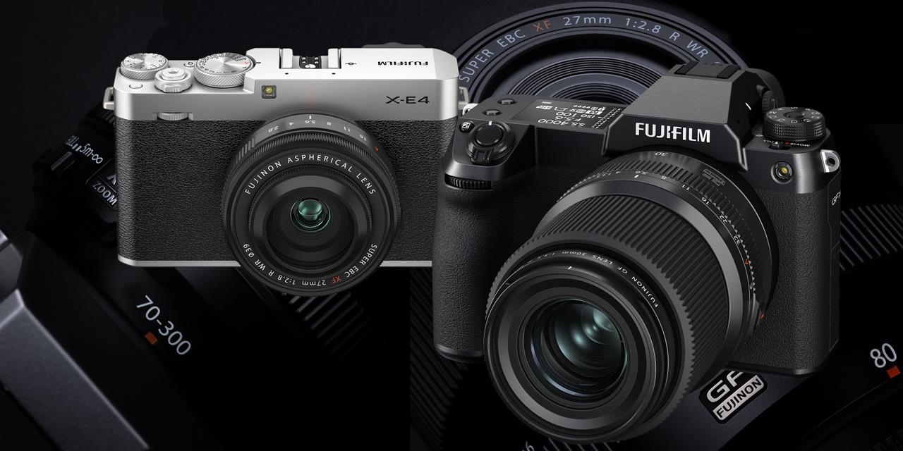 GFX100S, X-E4 und neue Objektive: Fujifilm startet ins Modelljahr 2021