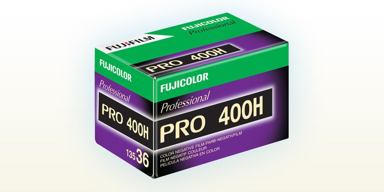 Fujifilm nimmt Farbnegativfilm Fujicolor PRO 400 H aus dem Programm