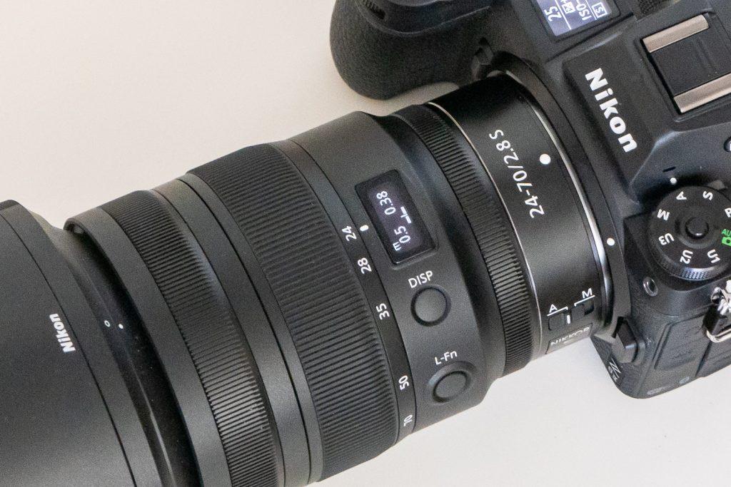 Nikon Z6II - OLED-Display