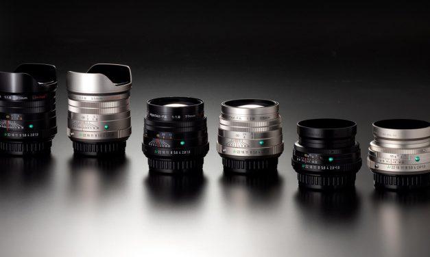 Pentax präsentiert drei Festbrennweiten der FA-Limited Serie