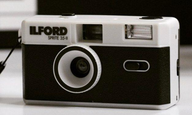 Ilford bringt Retrokamera Sprite 35-II …