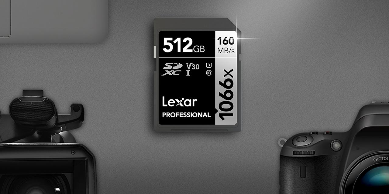 Lexar stellt vor: schnelle 1066x SDXC UHS-I Karte