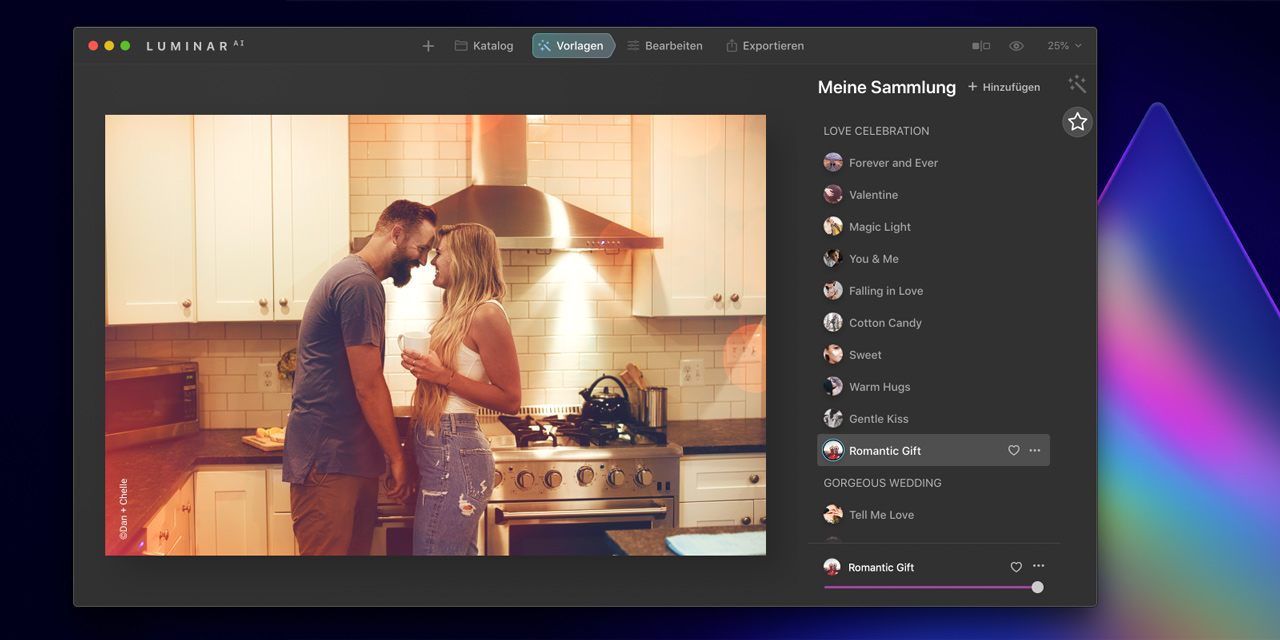 Luminar AI: Sonderrabatte zum Valentinstag