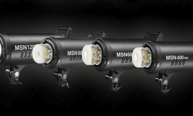 Jinbei MSN Pro: Vier neue Studio-Blitze mit bis zu 1200 Ws