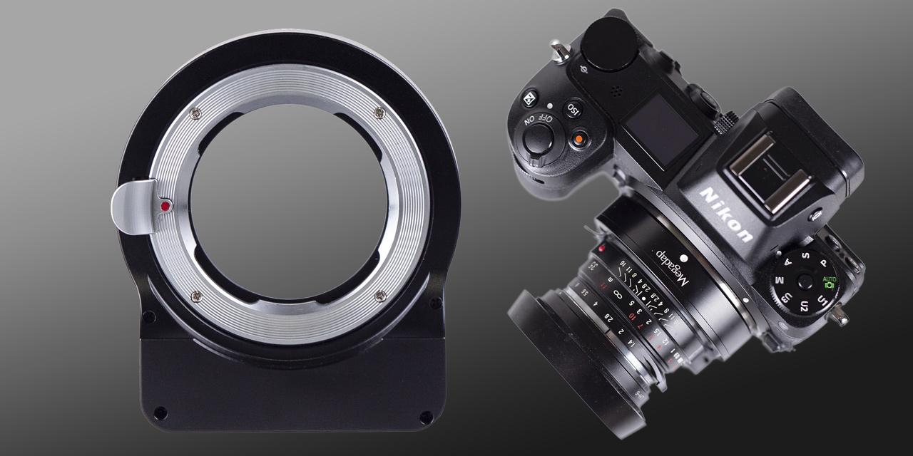 Megadap MTZ11 adaptiert Leica M-Objektive an Nikon Z mit Autofokus