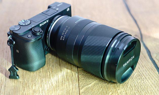 Tamron 17-70mm F/2.8 Di III-A VC RXD für Sony E bereits ausprobiert