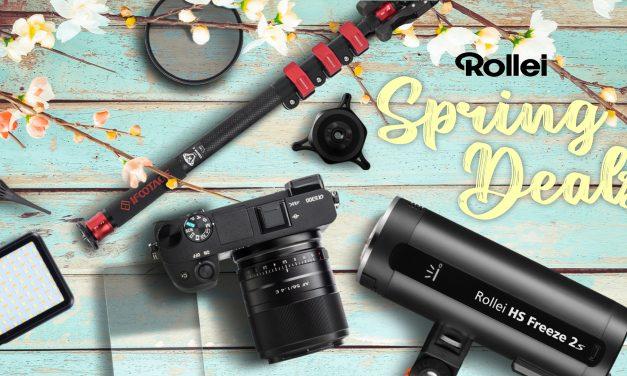 Rollei läutet den Frühling ein – mit unwiderstehlichen Angeboten