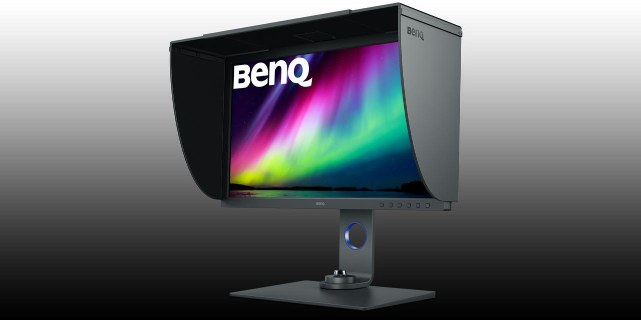 Neu von BenQ: USB-C Monitor SW271C für Video- und Bildbearbeitung