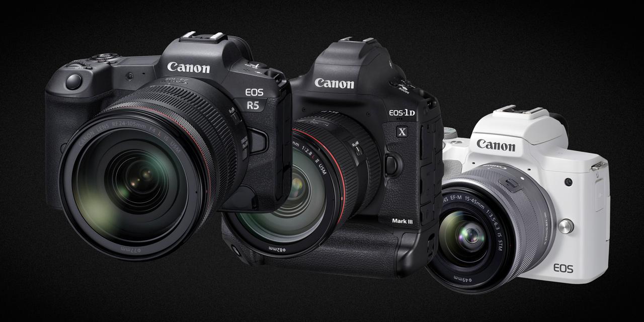 Canon ist erneut Nummer 1 bei den Digitalkameras mit Wechselobjektiven