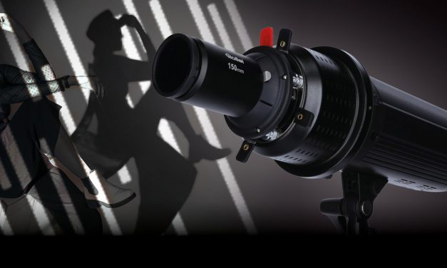 Rollei bringt Fokus-Spotversatz für Lichteffekte im Studio