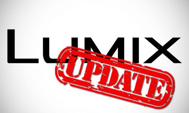Panasonic bringt umfassende Firmware-Updates für Lumix S1H, S1, S1R, S5 und BGH1