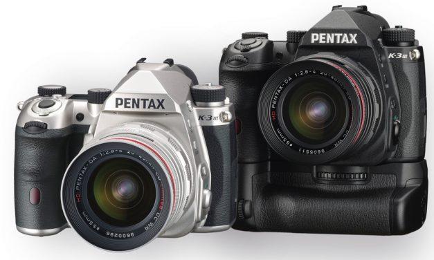 Pentax präsentiert K-3 Mark III
