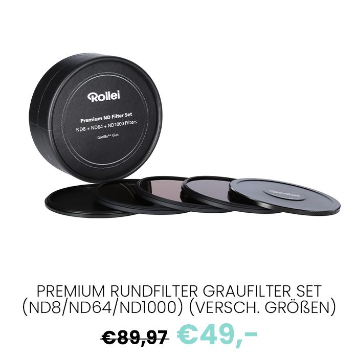 17 Premium Rundfilter Graufilter Set