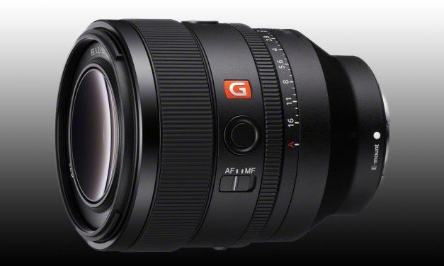 Neu von Sony: FE 50 mm F1.2 GM