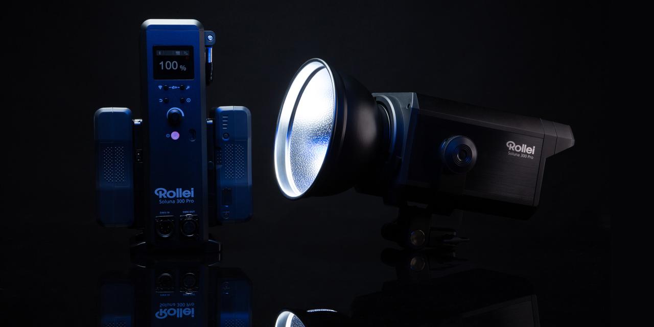 Rollei präsentiert: Dauerlichter Soluna Pro für Video- und Fotografen