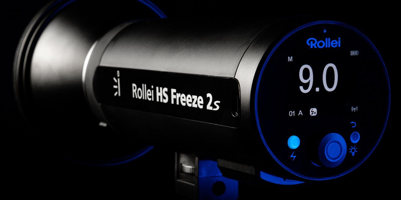 Neu von Rollei: Studioblitz HS Freeze 2s und Softboxen-Sortiment