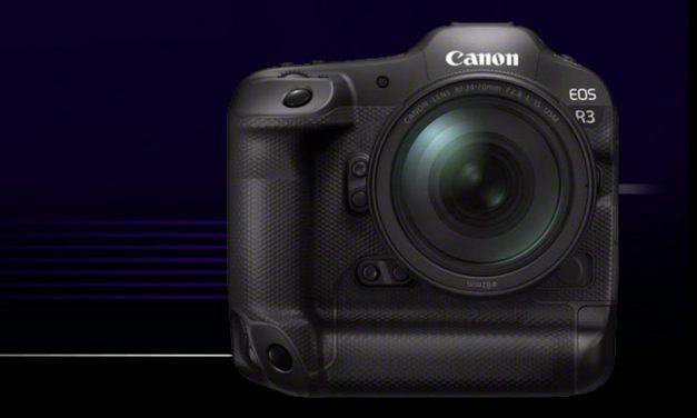 Canon kündigt an: EOS R3 mit neuem AF und 30 Bilder/s
