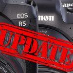Canon veröffentlicht Firmware-Updates für EOS R5, EOS R6 und EOS-1D X Mark III