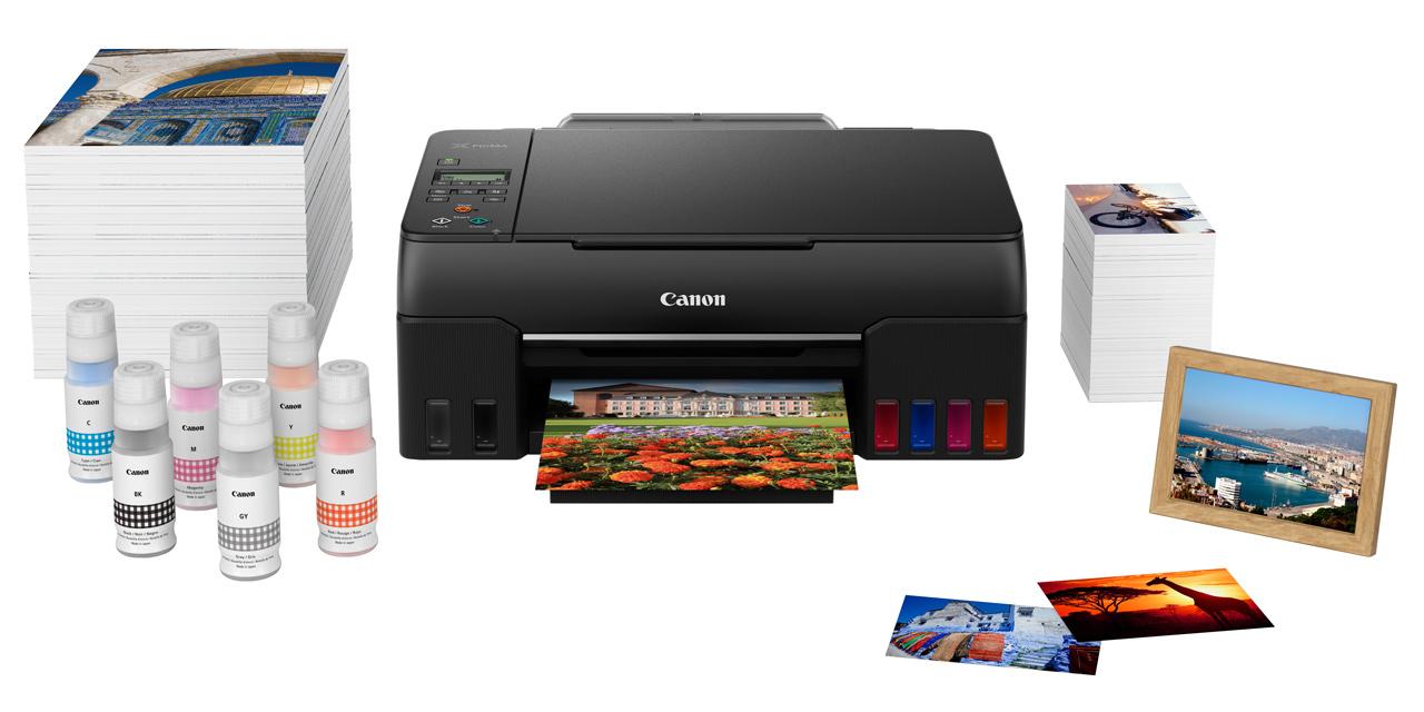 Canon Pixma G650 und G550: Fotodrucker mit extra-großem Tintentank