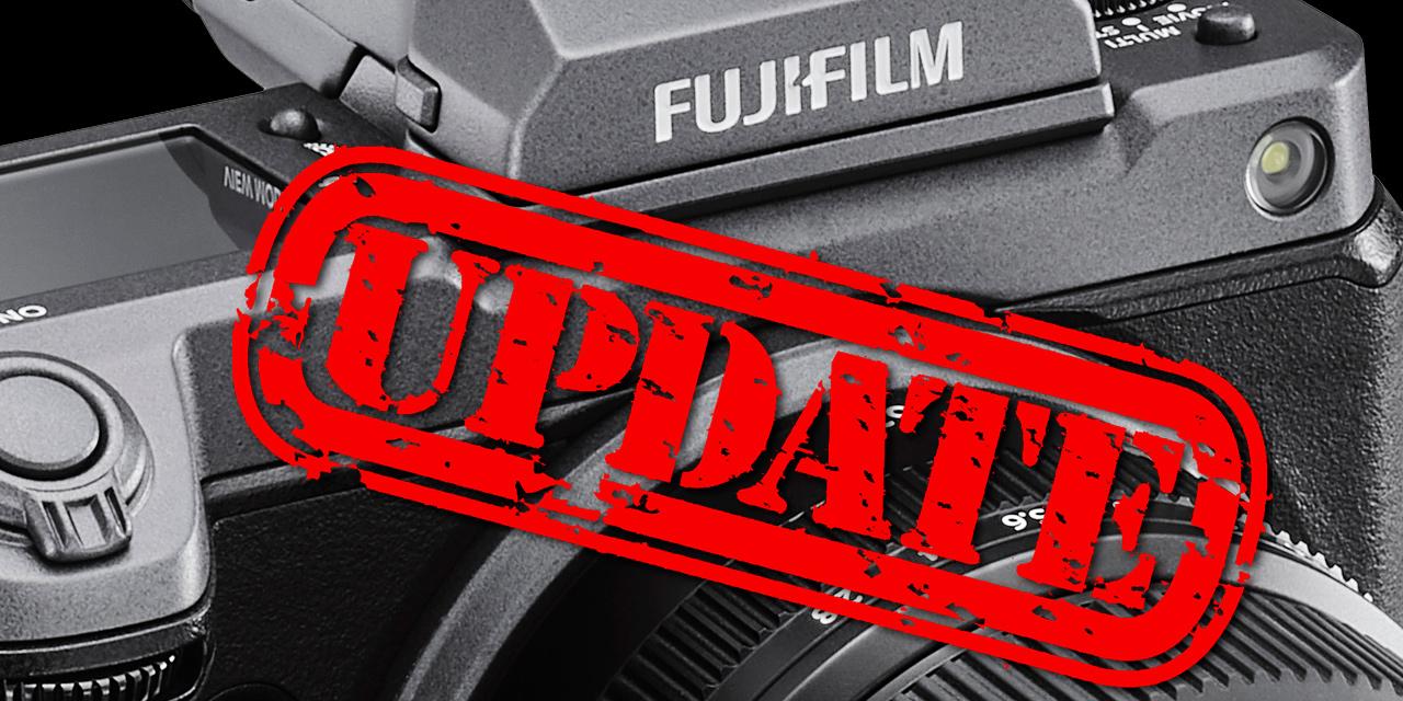 Fujifilm kündigt Firmware 4.00 für GFX100 an