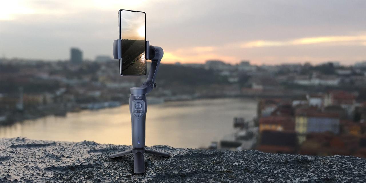 Neu von Rollei: Smartphone-Gimbal Steady Butler Mobile 3