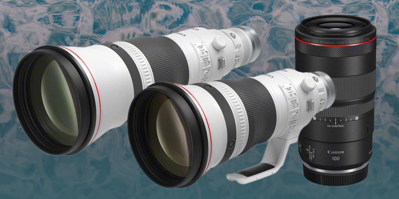 Canon stellt vor: RF 400mm F2.8 L IS USM, RF 600mm F4 L IS USM und RF 100mm F2.8 L Macro IS USM (aktualisiert)