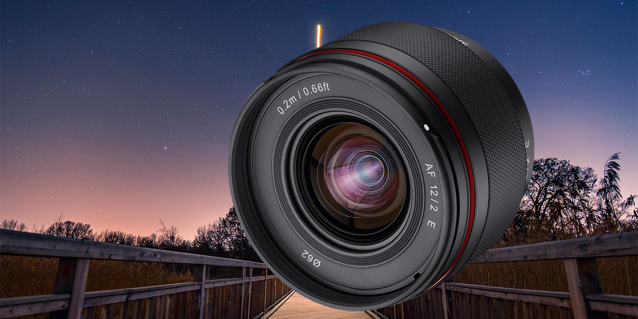 Samyang AF 12mm F2.0 für Sony E vorgestellt