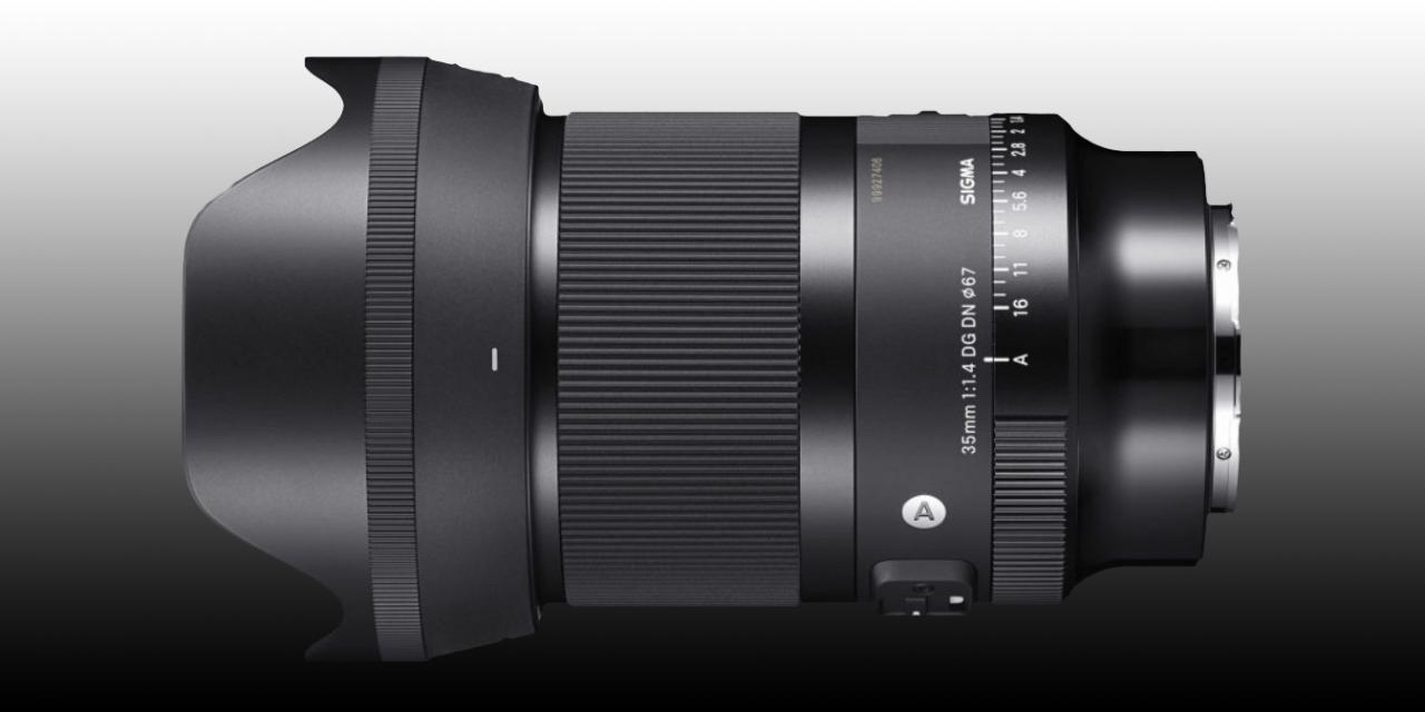 Neu für Sony E und L-Mount: Sigma 35mm F1.4 DG DN Art