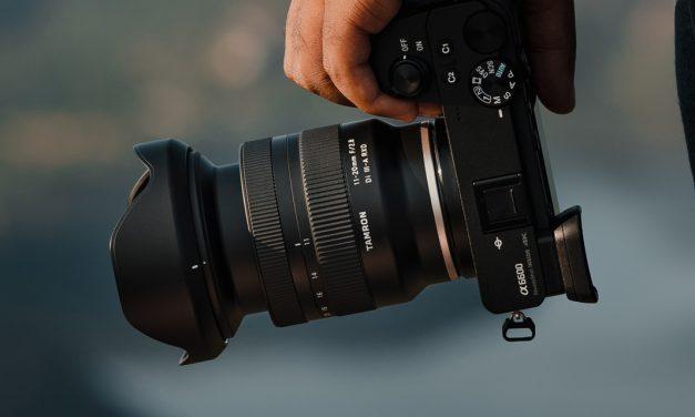 Tamron bringt Weitwinkelzoom 11-20mm F/2.8 Di III-A RXD für Sony APS-C