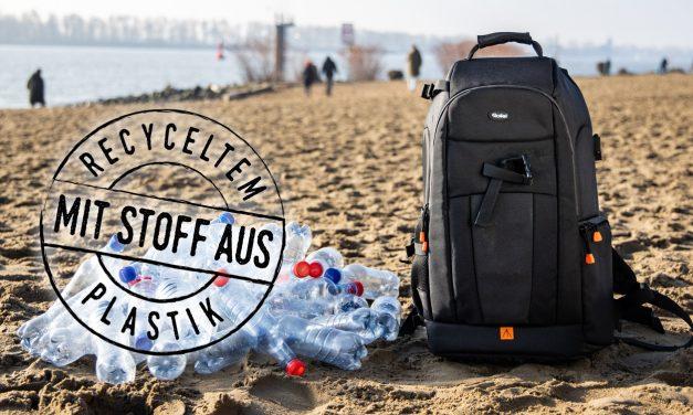 Rollei Fotoliner Ocean: Fotorucksäcke aus recyceltem Plastik