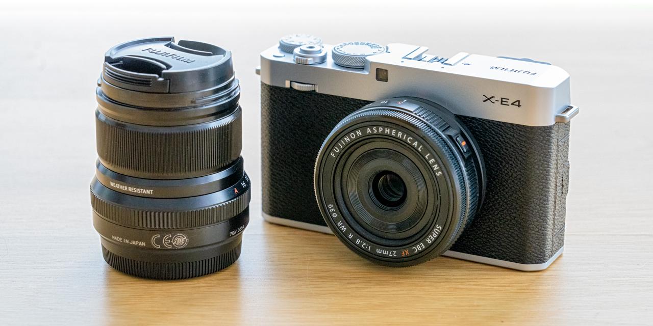 Fujifilm X-E4 ausprobiert: Eine feine Kleine?
