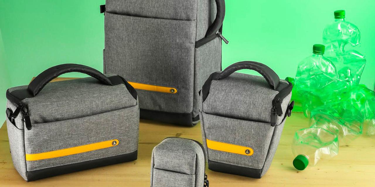 "Hama ""Terra"" – Kamerataschen aus recycelten PET-Flaschen"