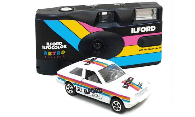 """Ilford kehrt mit Einwegkamera """"Ilfocolor"""" zur analogen Farbfotografie zurück"""