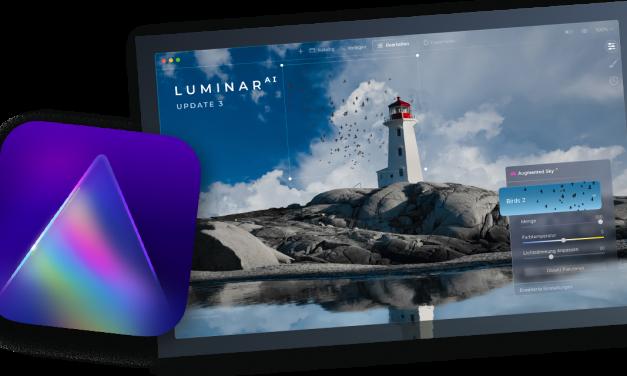 Für Luminar AI: kostenloses Update 3 ist da