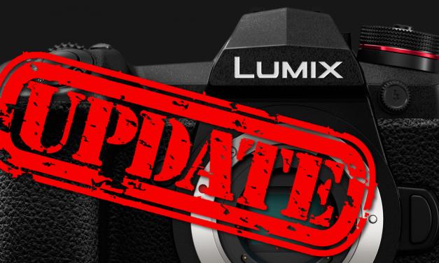 Panasonic GH5S, G9 und G110 erhalten Firmware-Updates