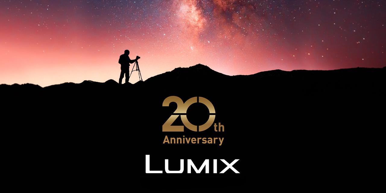 Panasonic: Kameramarke Lumix feiert 20. Geburtstag