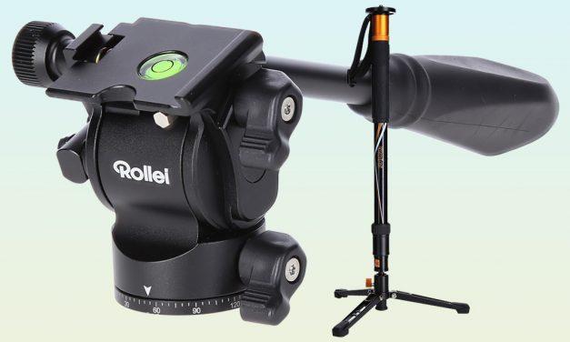 Rollei V6i Monopod: Einbeinstativ für Actionfotografen und Video-Aufnahmen