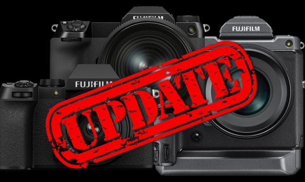 Firmware-Updates von Fujifilm für GFX100, GFX100S und X-S10