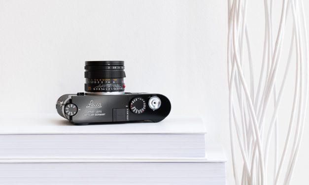 Leica M10-R jetzt auch in schwarz lackiert