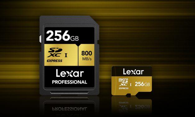 """Lexar entwickelt """"SD Express""""-Speicherkarten"""