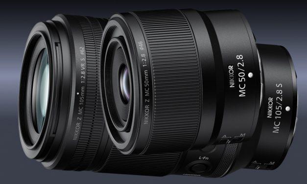 Neue Nikon Z Objektive: zwei Makros vorgestellt, zwei kompakte Festbrennweiten angekündigt